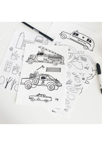 Detský fusak premium - autá