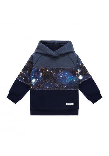 Bavlnená tepláková súprava s motívom vesmíru pre chlapcov