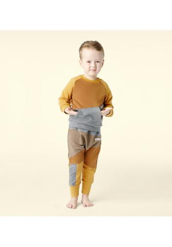 Farebná bavlnená tepláková súprava pre chlapcov