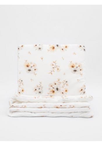 Detská posteľná zamatová sada -Boho Flowers