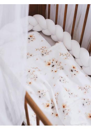 Detská posteľná sada s výplňou - Boho Flowers