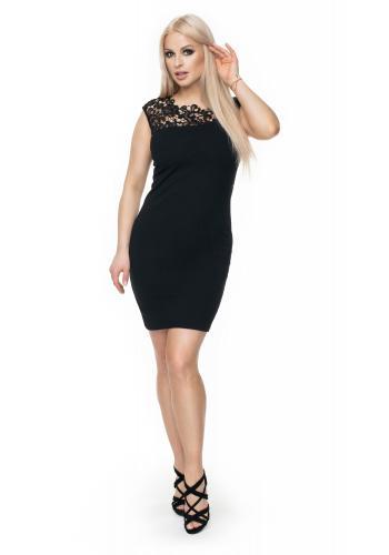 Dámske mini šaty s viazaním okolo krku a holý chrbát v cappuccinovej farbe pre dámy