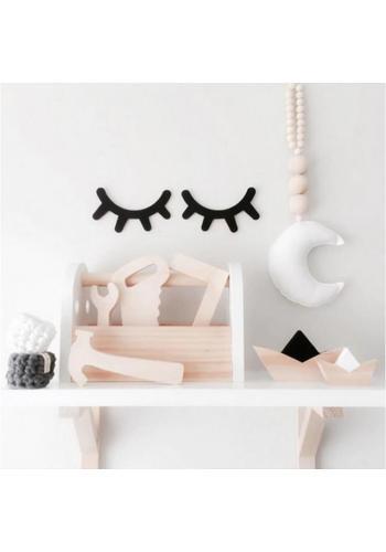 Mätový závesný organizér na hračky s potlačou