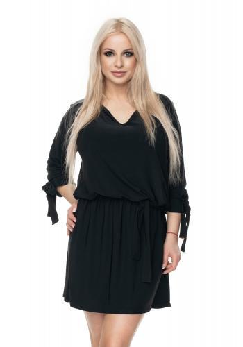 138ea3b5b8f0 Kaki mini šaty s krátkym rukávom pre dámy ...