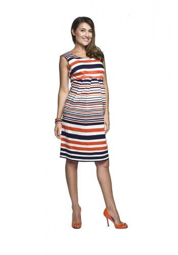 5f2c12c30188 Červené elegantné tehotenské šaty pre mamičky