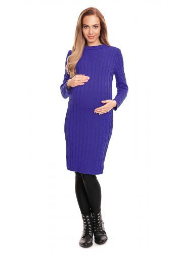 Farebný tehotenský kardigán bez zapínania - pastelový