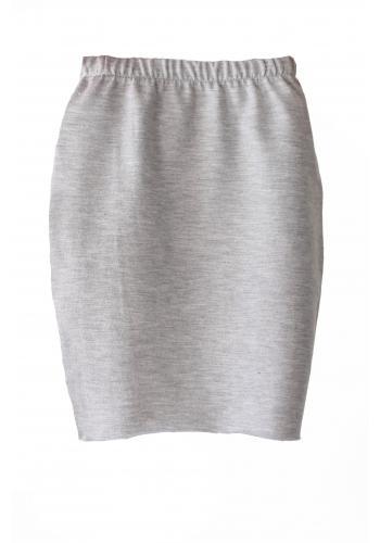 Kaki bavlnená sukňa v ceruzkovom strihu pre dievčatá