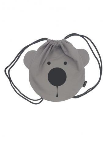 Detský batoh - medveď sivý