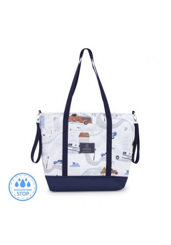 Nákupná taška - autá