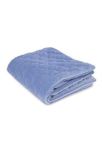 Teplá zamatová deka pre deti - autá/svetlo modrá