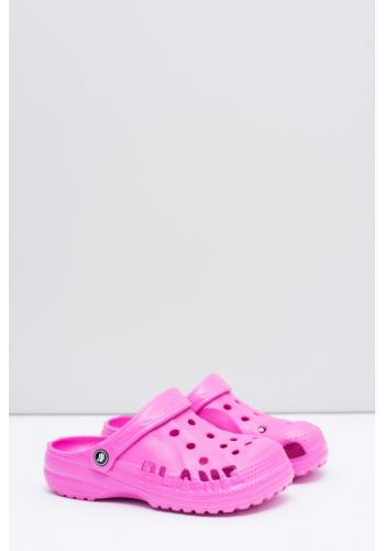 Ružové penové kroksy pre deti