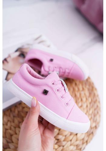 Klasické detské tenisky Big Star ružovej farby