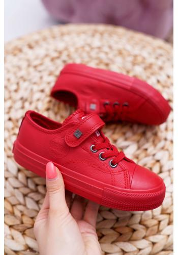 Štýlové detské tenisky Big Star červenej farby