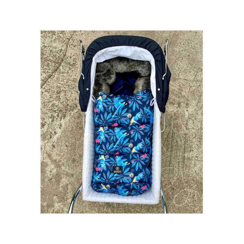 Detský fusak premium vo svetlo modrej farbe