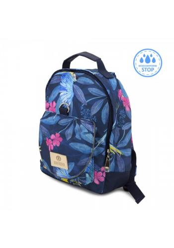 Vodeodolný batoh pre deti - tropic