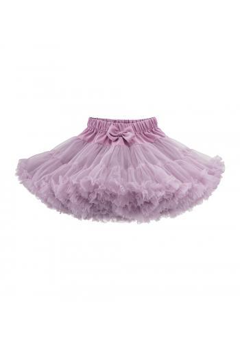 Sukňa pre dievčatá vo fialovej farbe