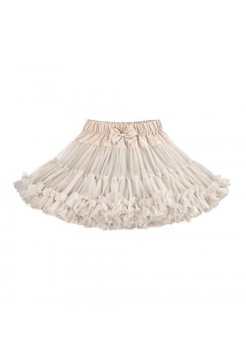 Béžová sukňa pre dievčatá