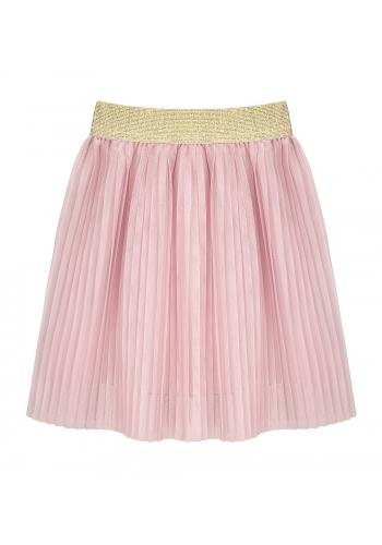 Skladaná sukňa ružovej farby