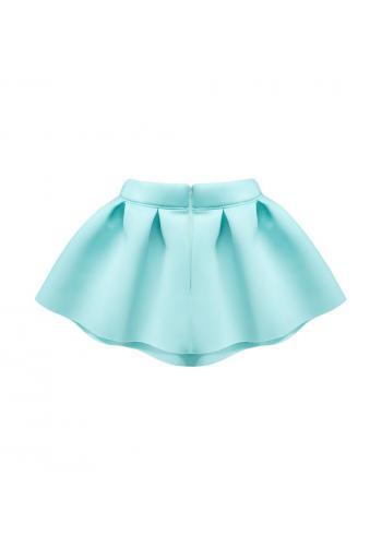 Sukňa pre dievčatá v mätovej farbe