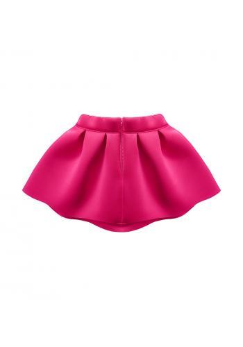 Dievčenská sukňa silno ružová