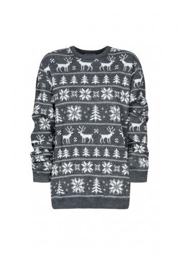 Zimný sveter pre oteckov s Vianočným motívom
