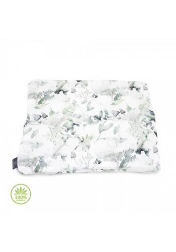 Malý vankúš - šalvia zelená 100% bambus