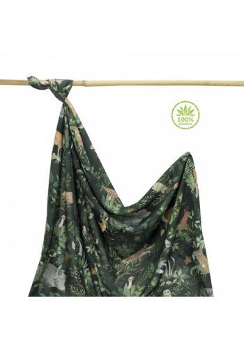 Bambusová deka na leto - zvieratá