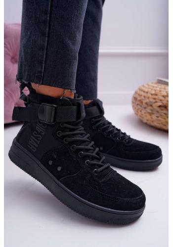Čierne štýlové Sneakersy Big Star pre dámy