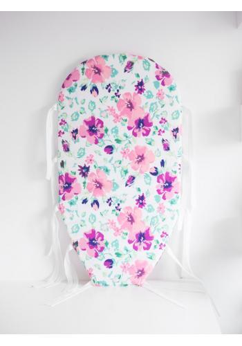 Vymeniteľný matrac pre kokón - farebné kvety