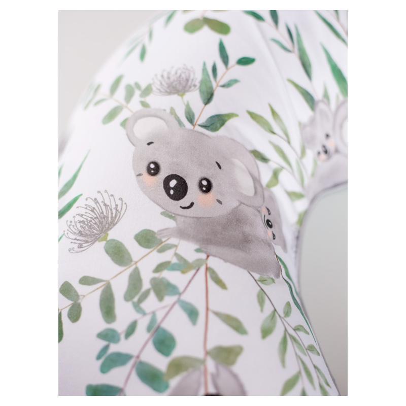 Dojčiaci vankúš v tvare C - koala