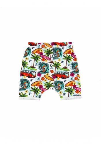 Detské kraťasy s potlačou leta - Aloha