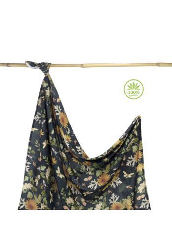 Bambusová deka na leto s motívom prírody