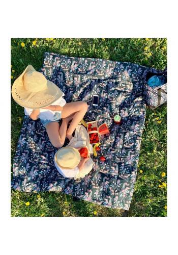 Pikniková deka s motívom opíc