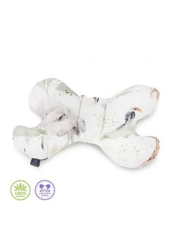 Vankúš motýľ s motívom Savany - 100% Bambus