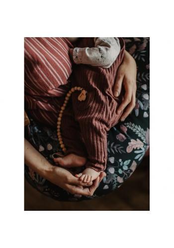 Dojčiaci vankúš v tvare C s motívom Savany