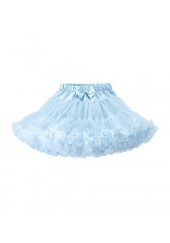 Svetlo modrá tylová sukňa