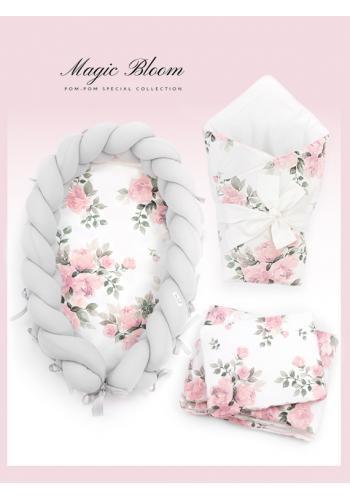 Výbava pre novorodenca 4v1 - magické kvety
