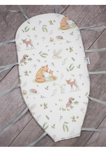 Výbava pre novorodenca 4v1 - lesné zvieratá