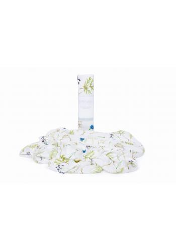 Letná bambusová deka pre bábätka - lúčne kvety
