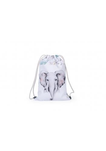 Detské vode odolné vrecko s obrázkom slona