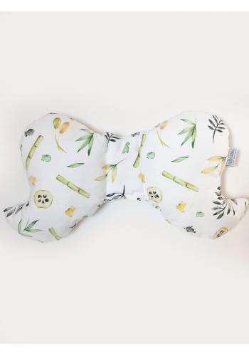 Detský bavlnený vankúš motýľ - s kolekcie panda