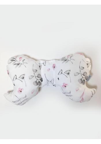 Detský bavlnený vankúš motýľ - s kolekcie králik