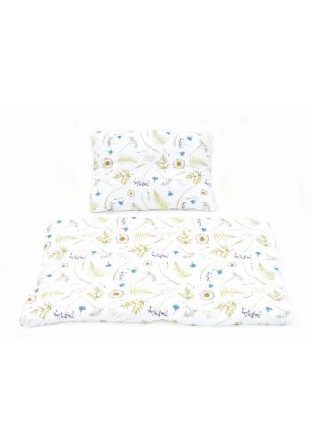 Detská bambusová posteľná sada - Lúčne kvety