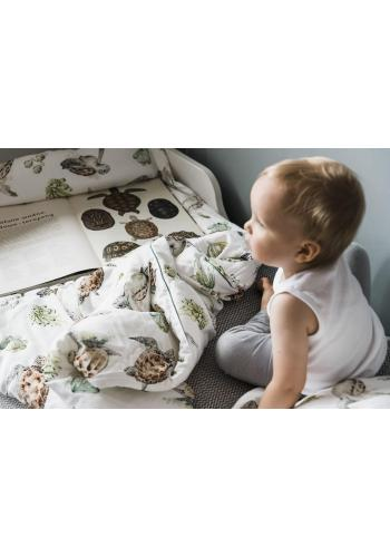 Bavlnená detská posteľná sada s výplňou -  Pacifik
