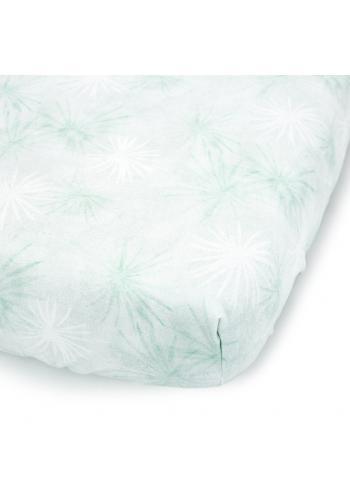 Detské prestieradlo s gumkou na posteľ s tropickým motívom