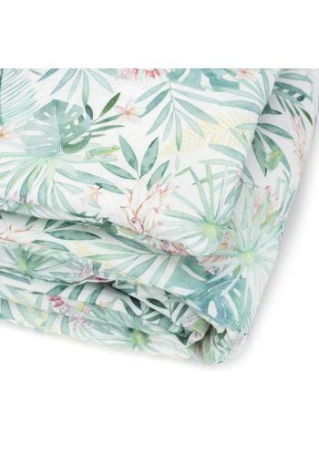 Sada na spanie s tropickým motívom - 100% bambus