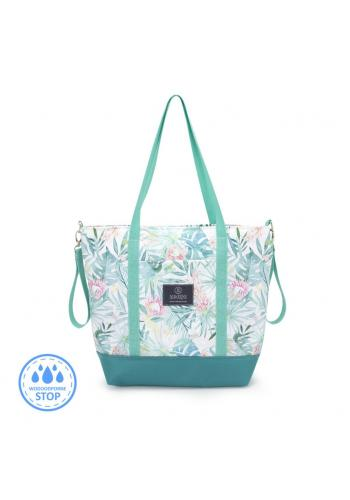 Nákupná taška s tropickým motívom