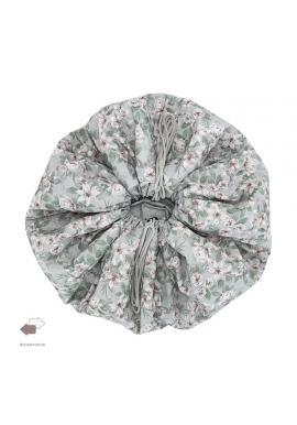 Obojstranná podložka na hranie s vintage kvetmi