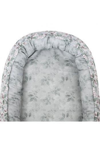 Hniezdo pre bábätka s vintage kvetmi - obojstranné