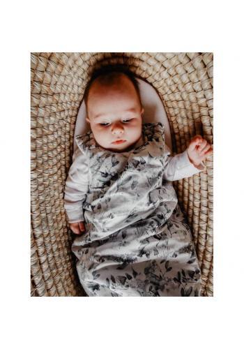 Detský spací vak s bylinkovým motívom